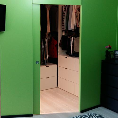 cabina armadio su misura novara