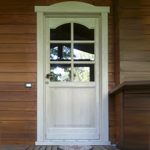 Portoncini di ingresso falegnameria regalli - Scale ingresso esterno ...