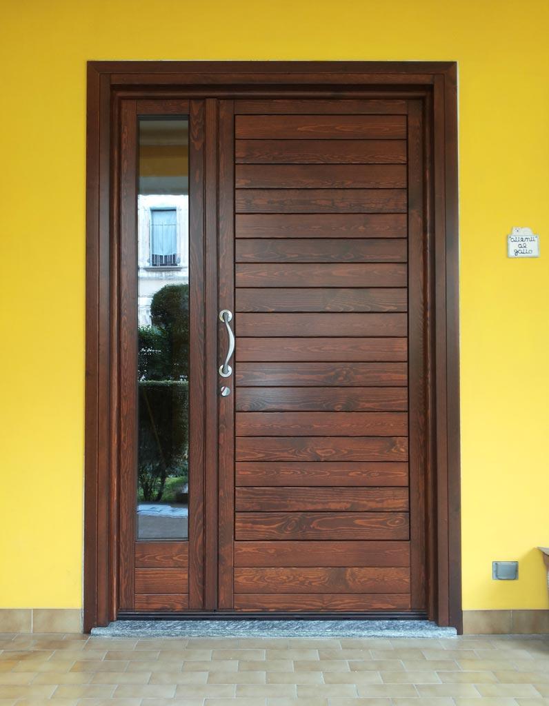 Portoncino di ingresso in legno falegnameria regalli for Portoncino ingresso prezzi