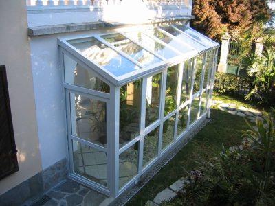 Veranda in PVC borgomanero novara