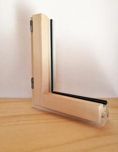 esterno alluminio interno legno infisso