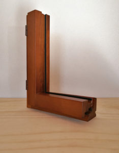 profilo finestra legno alluminio
