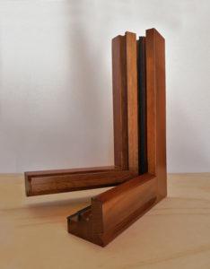serramento legno ricoperto legno novara