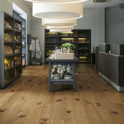 parquet decorato 100% legno naturale italiano