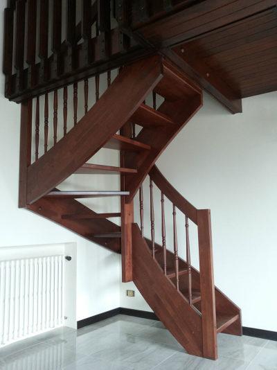 scala in legno da interno